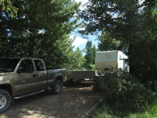 Big Springs Campground Island Park Idaho