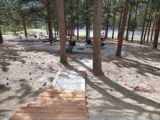 San Isabel National Forest O'Haver Lake Campground, Poncha ...