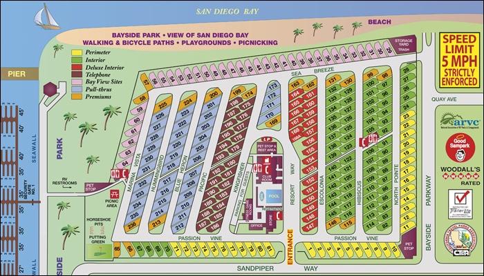 Chula Vista Rv Resort Special: Chula Vista RV Resort And Marina, Chula Vista, CA