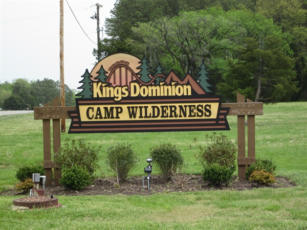 Kings Dominion Camp Wilderness Doswell Va Gps