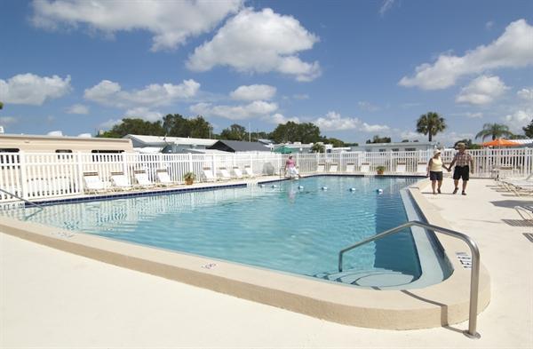 Rainbow Village Largo Carefree Rv Resort Largo Fl Gps