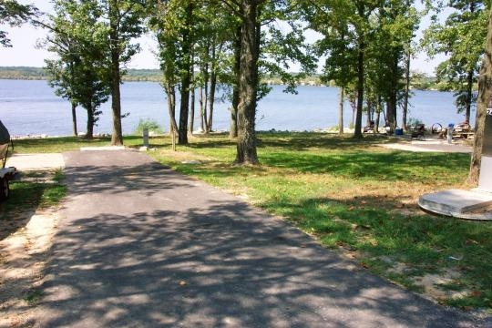 Coe Rend Lake Gun Creek Recreation Area Benton Il Gps
