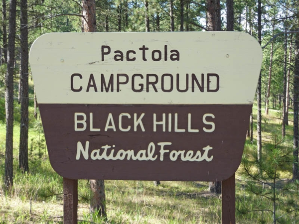Black hills national forest pactola campground hill city for Pactola lake cabins