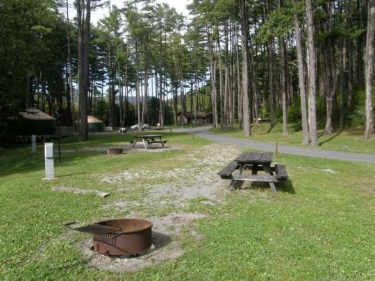 Little Pine State Park, Waterville, PA - GPS, Campsites ...