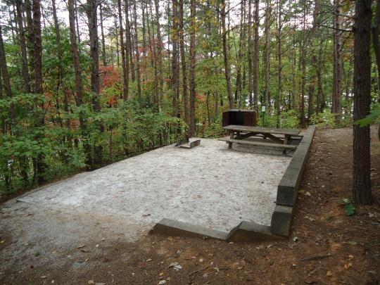 Lake James State Park, Nebo, NC - GPS, Campsites, Rates ...