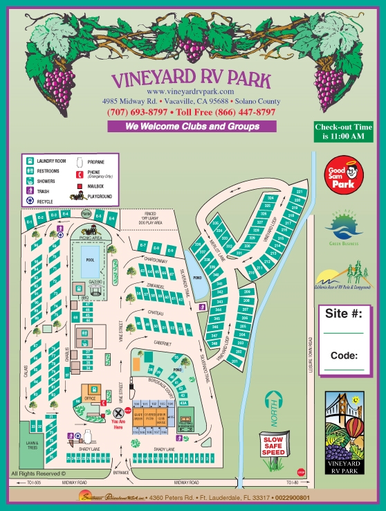 Vineyard Rv Park Vacaville Ca Gps Campsites Rates