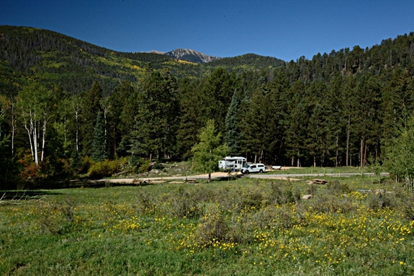 Santa Fe National Forest Jack's Creek Campground, Pecos ...