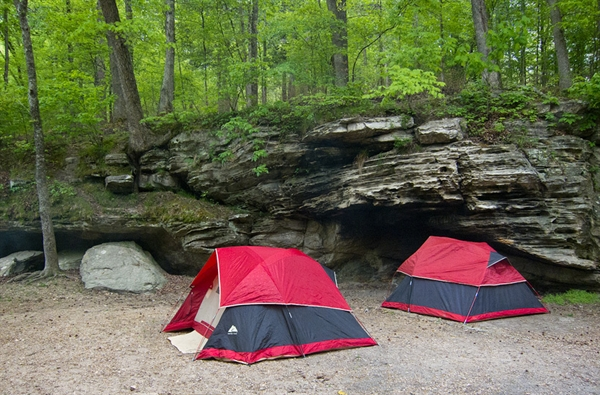 Ozark National Forest Gunner Pool Campground, Mountain ...