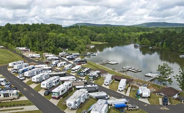 Lake Norman Motor Coach Resort, Sherrills Ford, NC - GPS ...