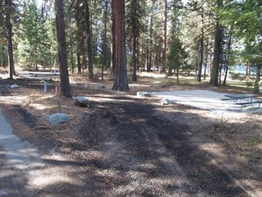 Ponderosa State Park Peninsula Campground Mccall Id