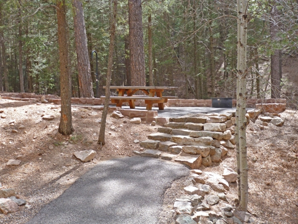 Santa Fe National Forest Black Canyon Campground Santa Fe