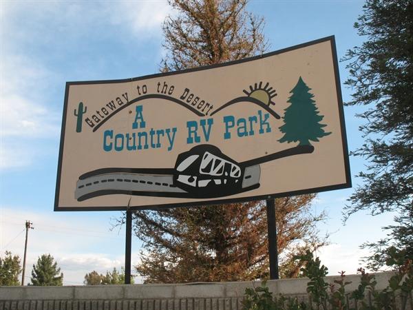 A Country RV Park Bakersfield CA