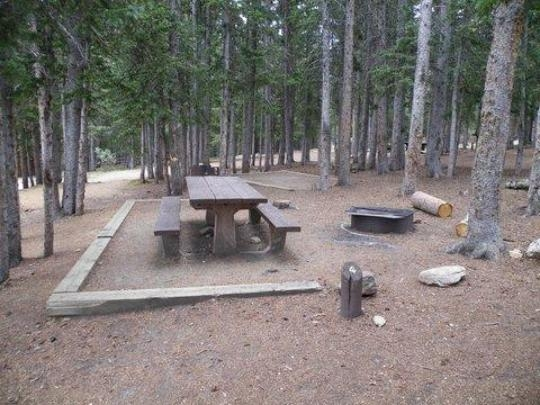 Arapaho National Forest Echo Lake Campground Idaho
