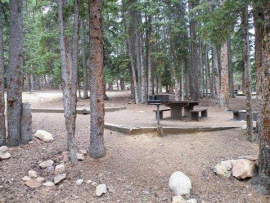 Arapaho National Forest Echo Lake Campground Idaho