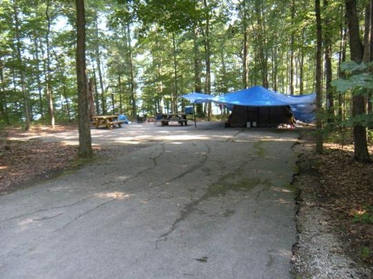 Daniel Boone National Forest Twin Knobs Campground Salt