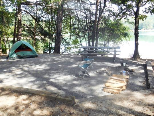 Chattahoochee National Forest Morganton Point Campground ...