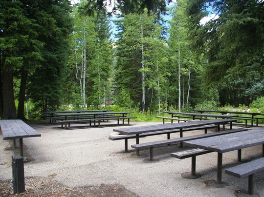 Wasatch National Forest Spruces Campground Salt Lake City
