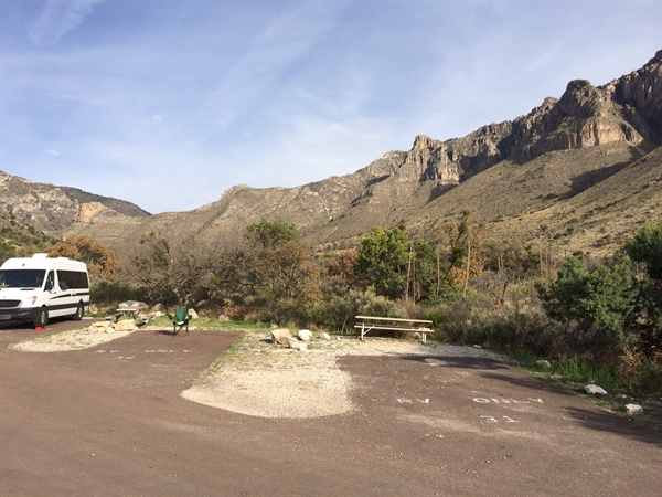 Guadalupe Mountains National Park Pine Springs Campground