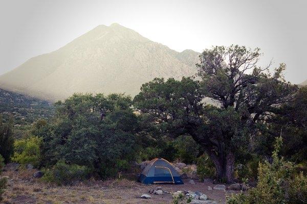 Blm Aguirre Spring Campground Las Cruces Nm Gps