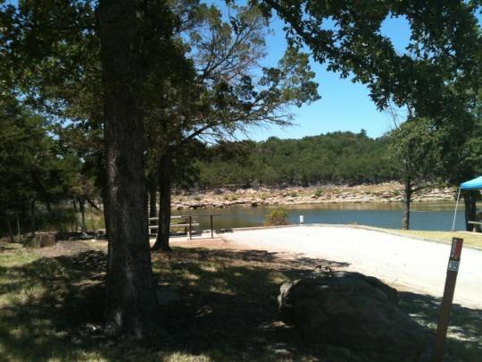 Coe keystone lake washington irving south sand springs for Camping cabins in oklahoma