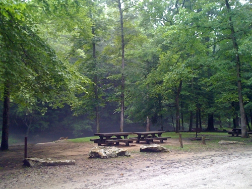 Daniel Boone National Forest Turkey Foot Campground Mckee