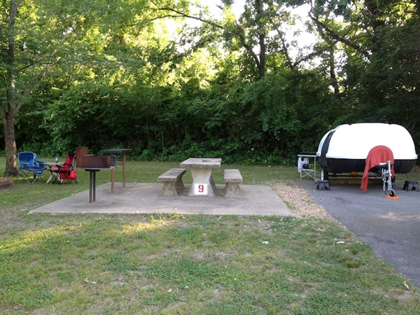 Sequoyah county gore landing park gore ok gps for Camping cabins in oklahoma