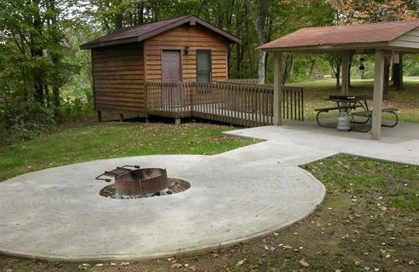 Barkcamp State Park Belmont Oh Gps Campsites Rates