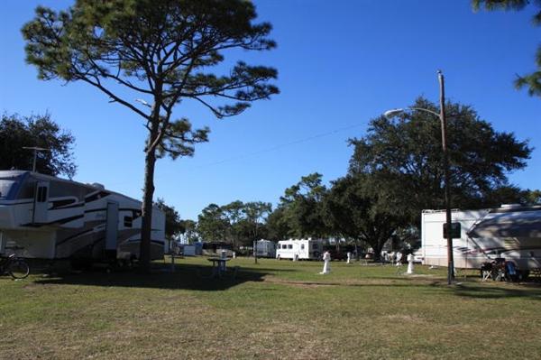 Brevard County Park Wickham Campground Melbourne Fl