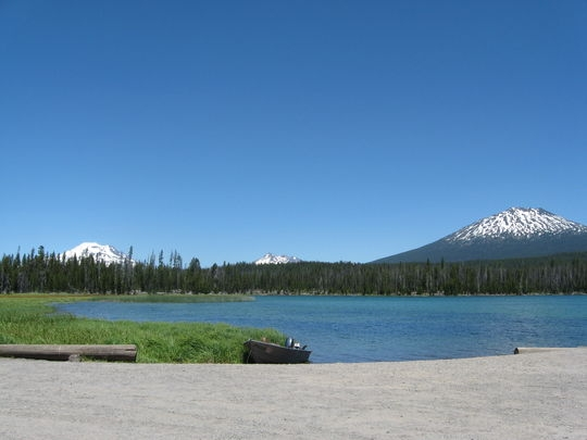 Deschutes National Forest Little Lava Lake Campground ...