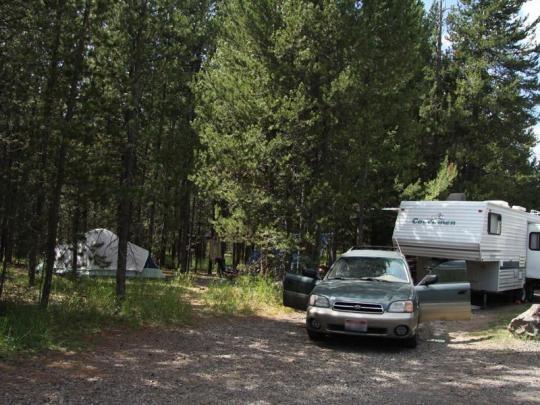 Buttermilk Campground Island Park Id