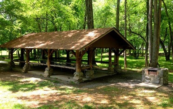 David crockett state park lawrenceburg tn gps for Tnstateparks com cabins