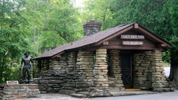 Pickett state park jamestown tn gps campsites rates for Tnstateparks com cabins