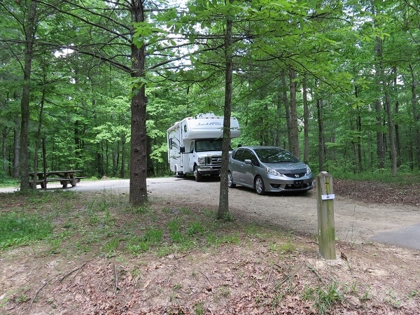 Daniel Boone National Forest Koomer Ridge Campground