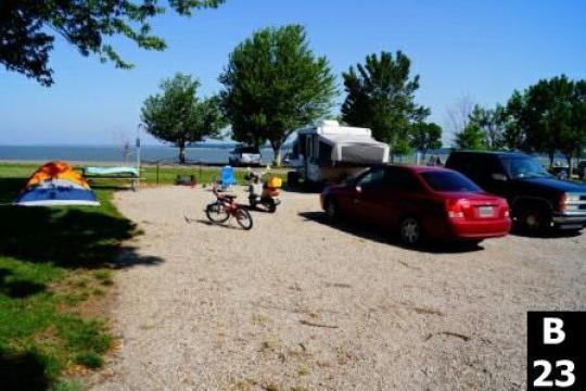 COE Rathbun Lake Island View, Centerville, IA - GPS ...