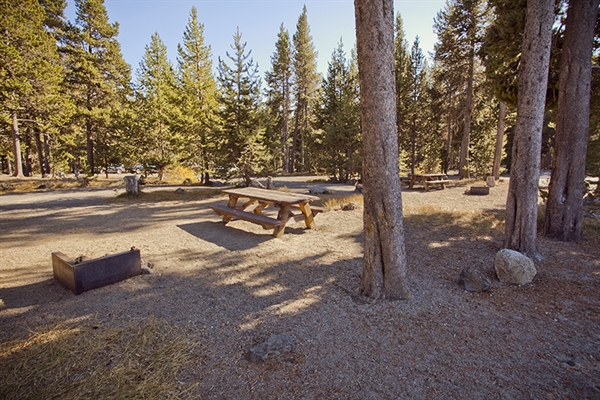 Deschutes National Forest East Lake Campground Bend Or