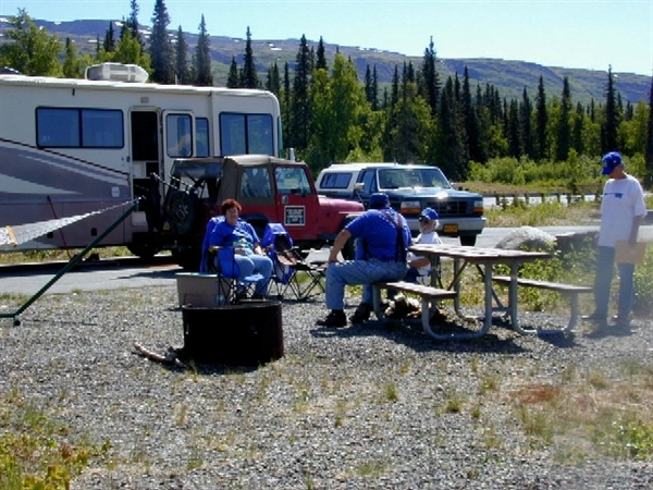 Denali State Park Denali Viewpoint North Campground