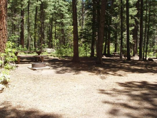San Juan National Forest East Fork Campground Pagosa