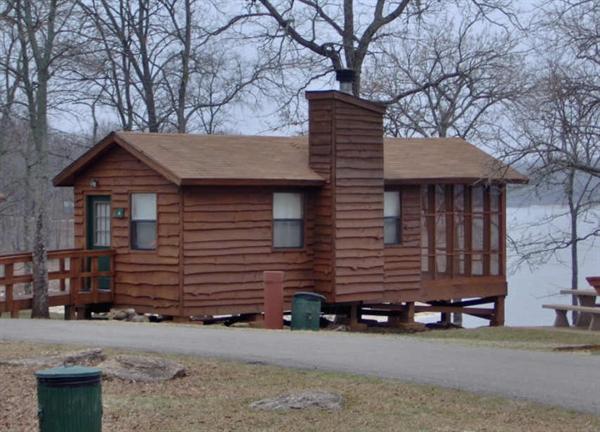 Hugo lake state park hugo ok gps campsites rates for Camping cabins in oklahoma