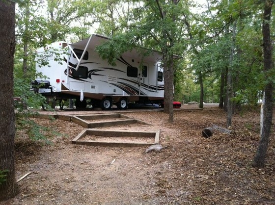 Chickasaw national recreation area buckhorn campground for Camping cabins in oklahoma