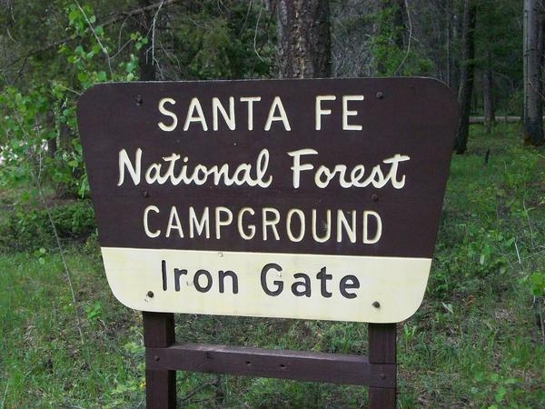 Santa Fe National Forest Iron Gate Campground, Pecos, NM ...