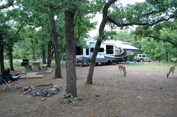 Wichita mountains wildlife refuge doris campground for Camping cabins in oklahoma