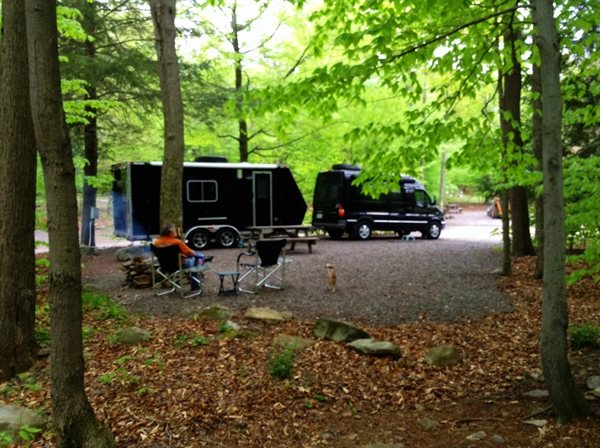 Pioneer Campground Muncy Valley Pa Gps Campsites