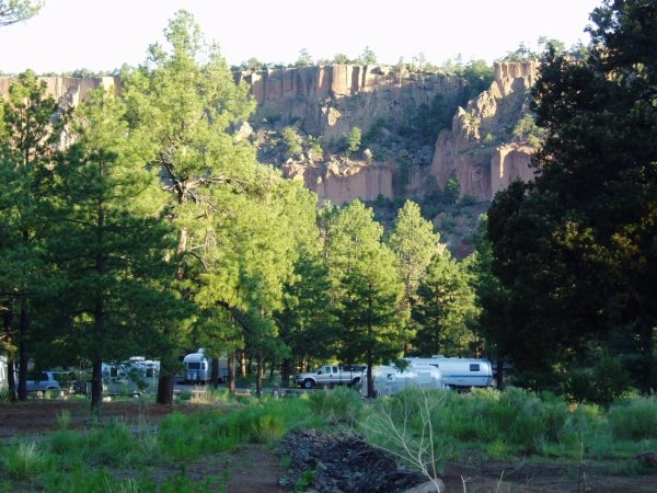 Santa Fe National Forest Paliza Family Campground San