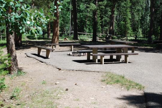 Dixie National Forest Yellow Pine Campground, Saint George ...
