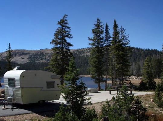 Wasatch National Forest Washington Lake Campground, Kamas ...