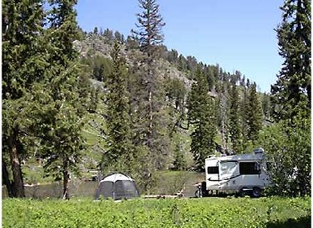 Yellowstone National Park Slough Creek Campground