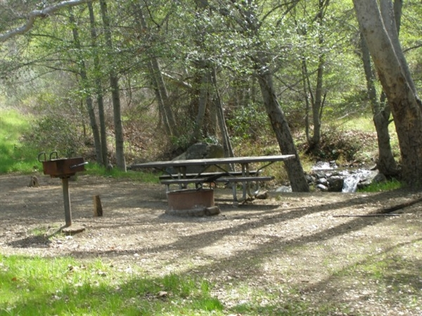 Los Padres National Forest Davy Brown Campground Santa