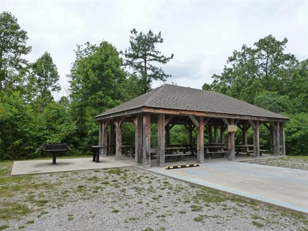 Daniel Boone National Forest Barren Fork Horse Camp
