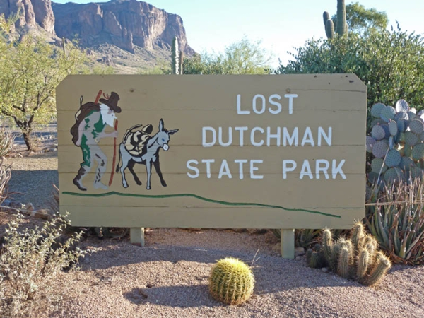 Lost Dutchman State Park Apache Junction Az Gps
