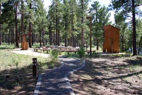 Kaibab national forest dogtown lake campground williams for Fishing in williams az